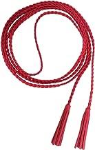 Nanxson Women Girls Slim Leather Waist Chain/Rope/Belt with Tassels PDW0042