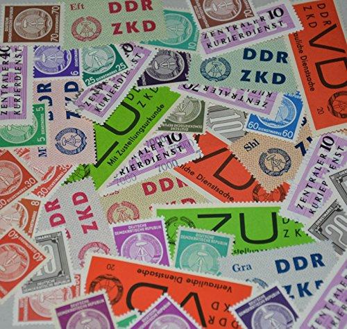 Goldhahn DDR 45 Dienstmarken postfrisch ** Briefmarken für Sammler