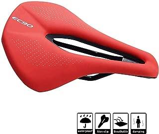 JIMAITEAM Gel Bike Seat Cover - Bicycle Seat Saddle Cushion Ergonomical Bicycle Saddle Narrow Mountain MTB Road Gym Bike Seat Gel Pad Cycling 5.6inch 9.4inch Black