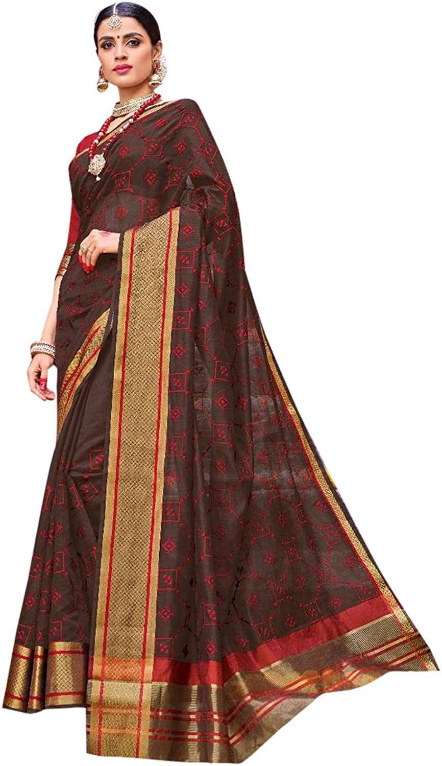 Bollywood Collection Of Silk Printed Saree Wedding Sari Blouse Formal Ethnic Designer Women muslim Indian Eid 2822