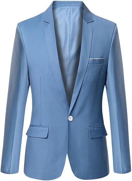 Details about  / Fashion Mens Bluish Grey Casual Wear Woolen Blazer Two Button Regular Slim Type