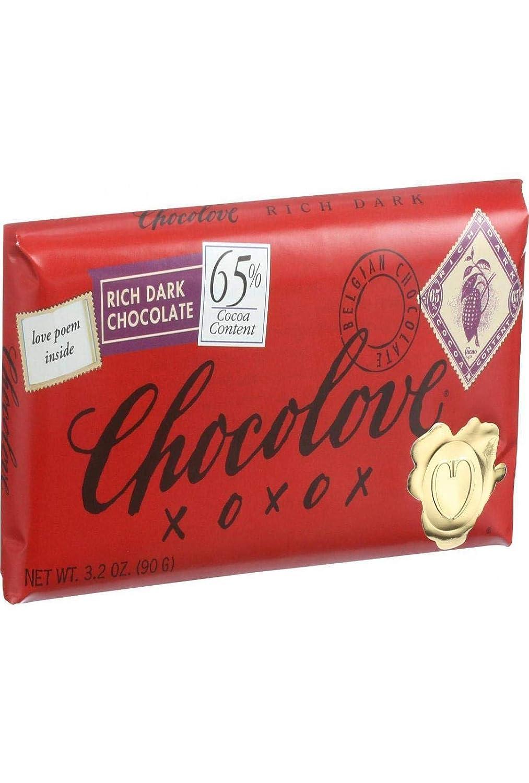 Chocolove Rich Dark Sales Chocolate OZ Bar 3.2 [Alternative dealer]