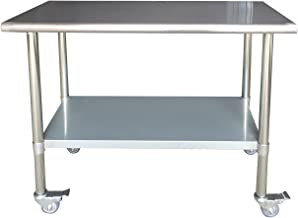 SSWTWC48 Stainless Steel Work Table