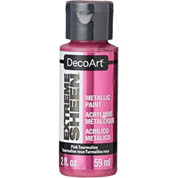 DecoArt 2 Ounce, Pink Tourmaline Extreme Sheen Paint,