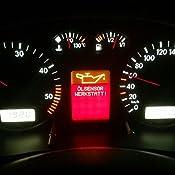 Magideal Vdo Fis Cluster Lcd Display Anzeige Für Vw Volkswagen Audi Version A3 A4 A6 Alte Version Ersatz Set Auto