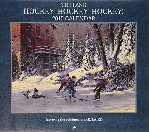 Lang Januar bis Dezember, 34x 61cm, perfekte Zeit Hockey 2015Wandkalender von D.R. Laird (1001812)