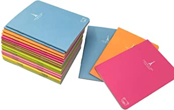"""Pocket Notebook Set Pack of 24 (3.5""""x5"""") Candy Colors Portable Pocket Pal Super Mini Journals Portable Steno Note Books Mi..."""