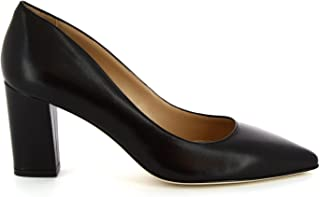LEONARDO SHOES Luxury Fashion Womens 5010BLACK Black Pumps | Season Permanent