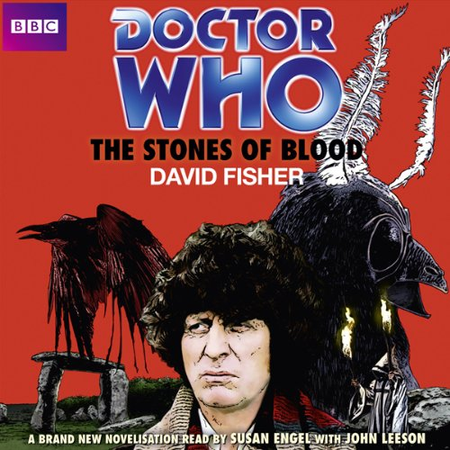 Doctor Who: The Stones of Blood audiobook cover art