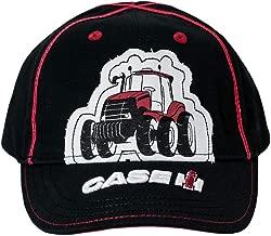 Case IH Toddler Black Tractor Cap