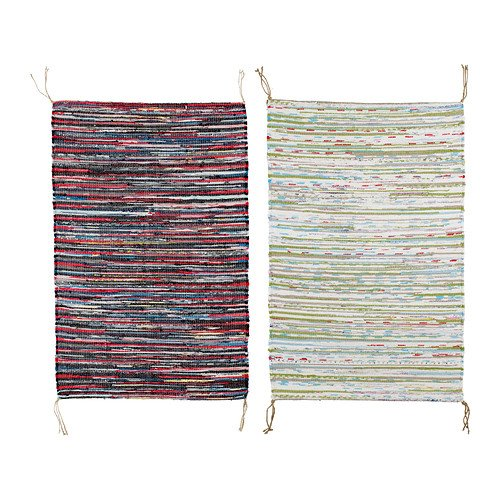 IKEA TANUM -Flachgewebte Teppich farblich Sortiert - 60x90 cm