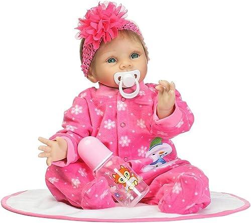 ventas en linea Lazder - muñeca muñeca muñeca para bebé hecha a maño (55 cm, silicona y viNiño)  grandes ahorros