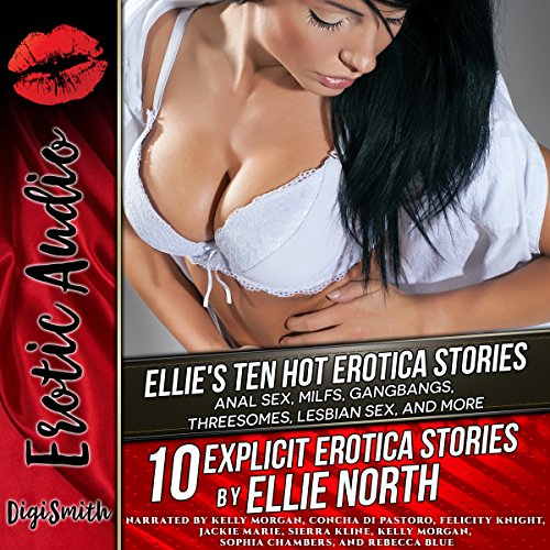 Ellie's Ten Hot Erotica Stories audiobook cover art
