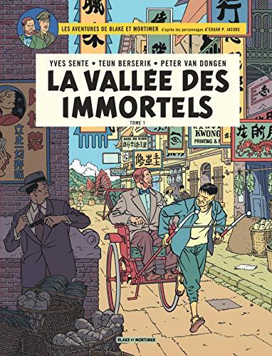 Blake & Mortimer - Tome 25 - La Vallée des Immortels - Menace sur Hong Kong: Tome 1, Menace sur Hong Kong (Blake & Mortimer, 25)