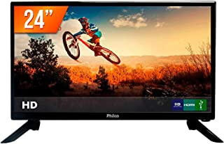 Tv, Philco, TV PH24N91D LED, Preto, 24""