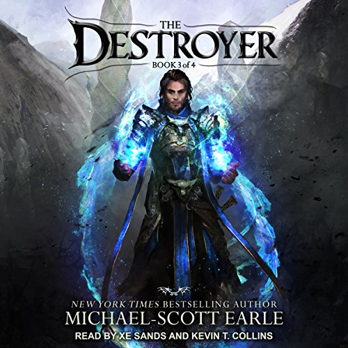 The Destroyer Book 3                   By:                                                                                                                                 Michael-Scott Earle                               Narrated by:                                                                                                                                 Kevin T. Collins,                                                                                        Xe Sands                      Length: 18 hrs and 45 mins     12 ratings     Overall 4.8