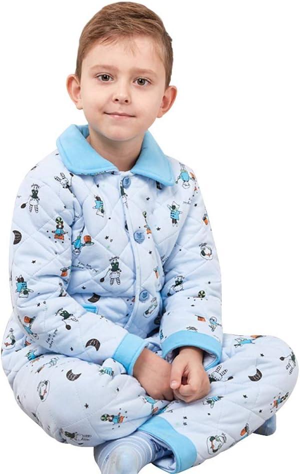 Pijamas dos piezas Pijama Servicio de Invierno Acolchado de ...