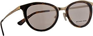 Michael Kors MK 3021 Capetown Eyeglasses 51-19-140 Matte Pale Gold Tortoise w/Demo Clear Lens 1168 MK3021