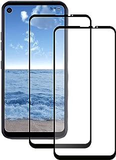 [2-pack] För LG Q70 skärmskydd, LG Q70 skärmskydd med härdat glas, skärmfilm för LG Q70 smartphone