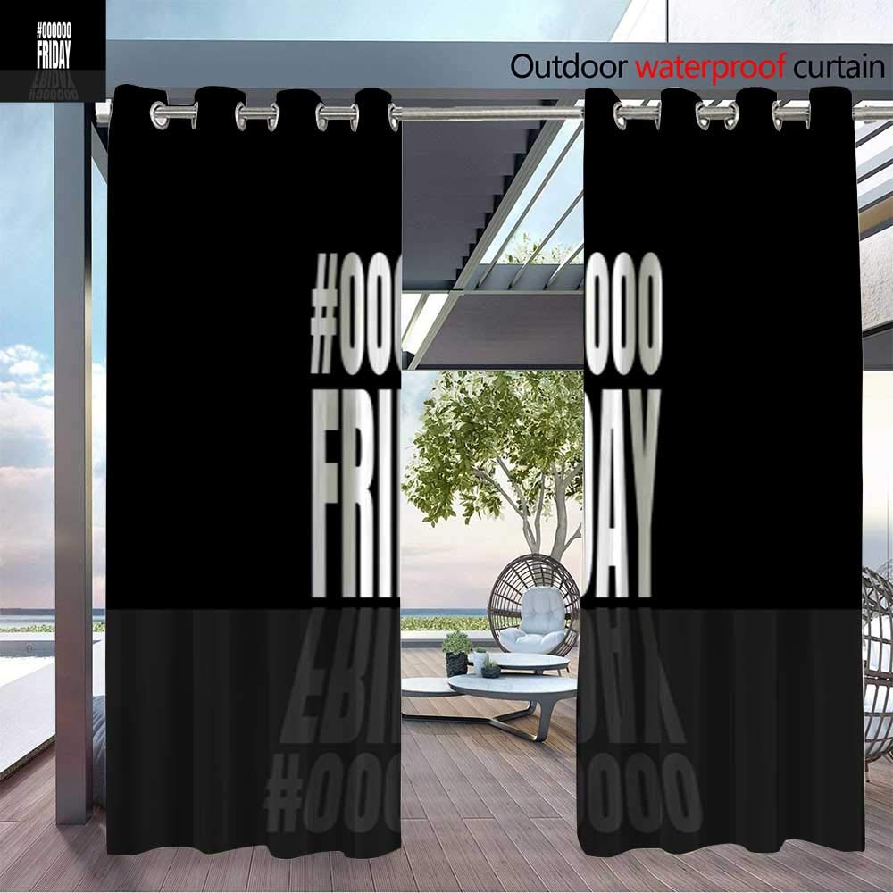 BlountDecor Cortina de privacidad para Exteriores para la inscripción de pérgola con Hojas Tropicales y Moda para Mujeres jóvenes Vector Des térmico Aislado Repelente al Agua Cortina para balcón: Amazon.es: Jardín