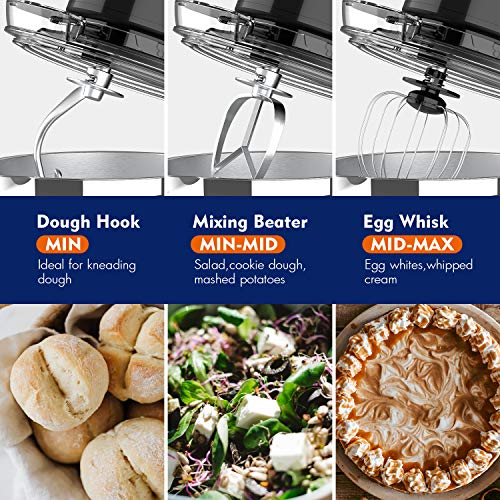 whall 12-Speed Tilt-Head Stand Mixer Product Image