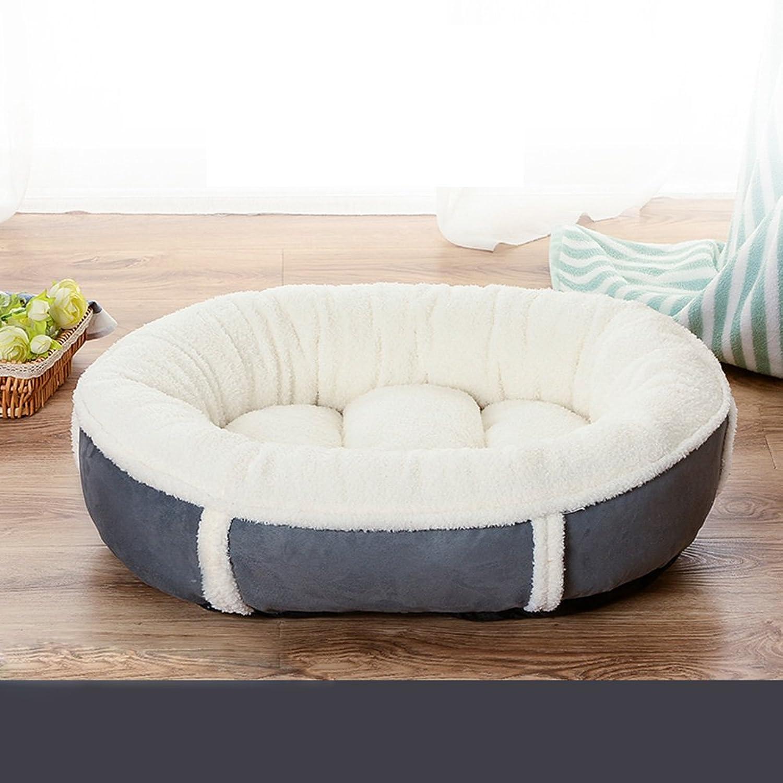 A_Feel pet mat Pet Mat Four Seasons Universal Ice Pad Sleeping Pad (color   White, Size   M75  60  18cm)