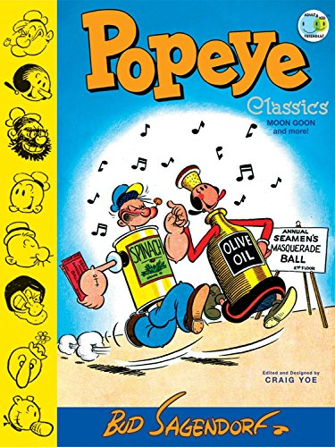 "Image of Popeye Classics: ""Moon Goon"" and more! (Volume 2)"