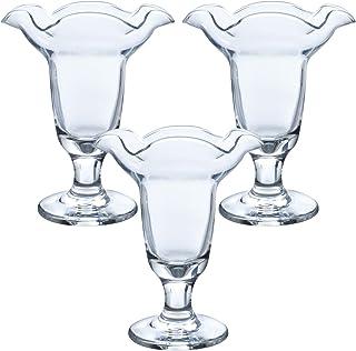 東洋佐々木ガラス パフェグラス 約φ11.2×13.7cm プルエースパーラー 日本製 食洗機対応 35802 3個セット