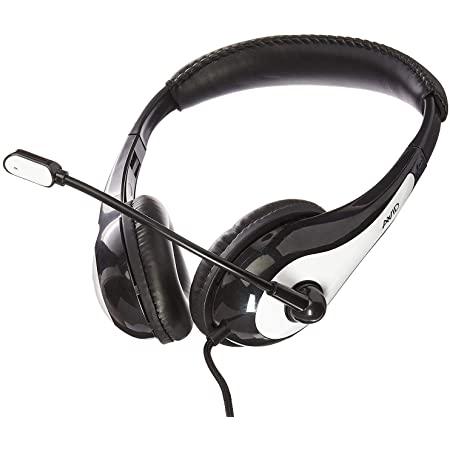 3065AV-T Headset DP1 BLACK NEW Califone MODEL