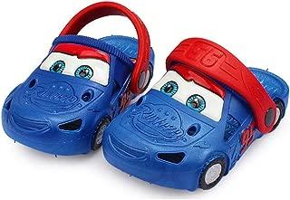 ROKIDS Kids Cars Lightning McQueen Sandals and Slippers Boys Girls
