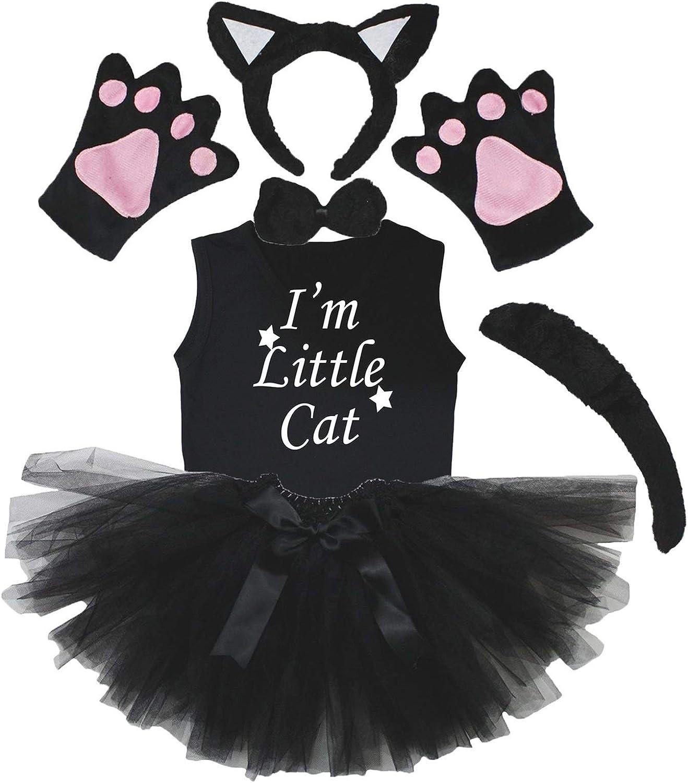 Petitebella Combined Animal Max 80% OFF Headband Gloves 6pc Girl Ranking TOP12 Shirt Tutu