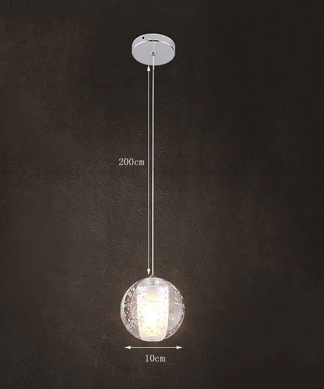 Pendelleuchte Led Kronleuchter Kristall Glas Sphrischen Einfache Moderne Wohnzimmer Schlafzimmer Restaurant Beleuchtung Kreative Persnlichkeit Bar Table Table Kronleuchter Kronleuchter (Farbe  1 R)