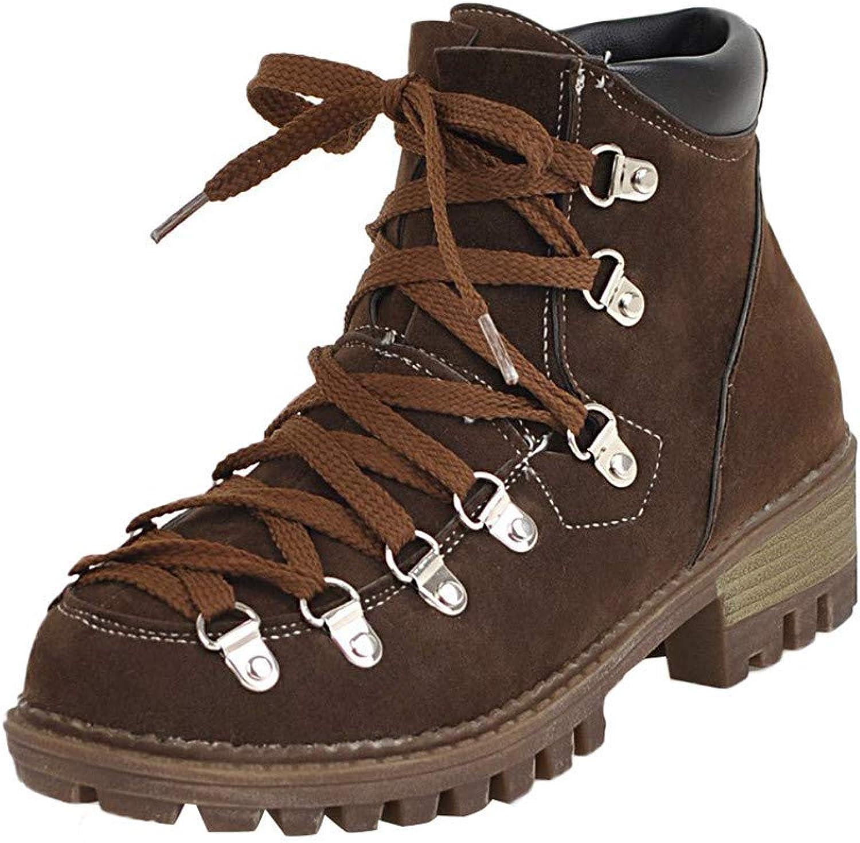 Colmkley Women's Casual LowHeeled shoes Platform Slip On Scrub Short Tube shoes