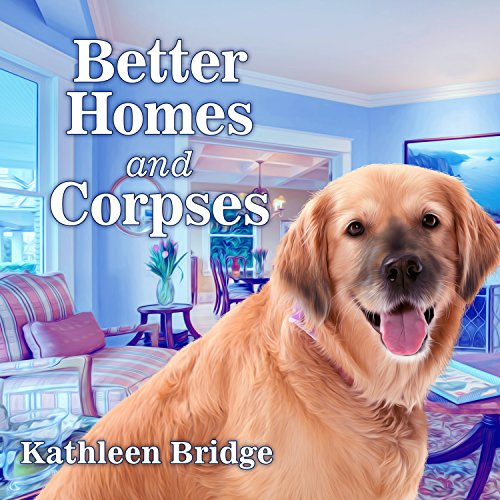 Better Homes and Corpses audiobook cover art
