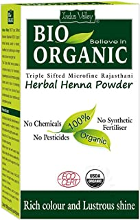 Indus Valley Bio Organic Herbal Henna (100 gm)