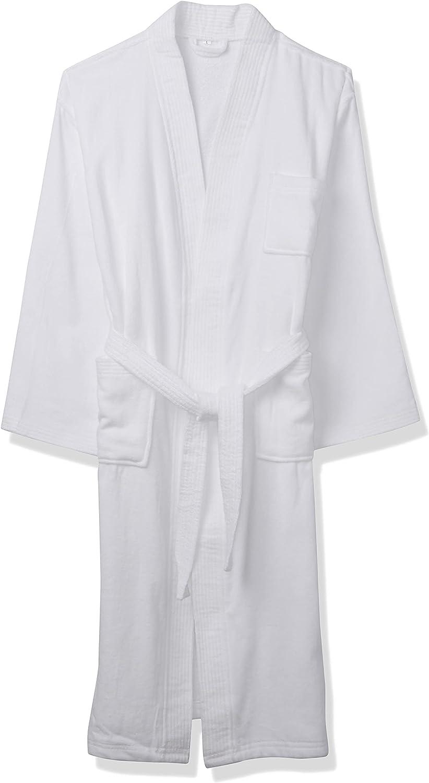 Acanva Women's & Men's Terry Robe Plush Cotton Spa Kimono Bathrobe
