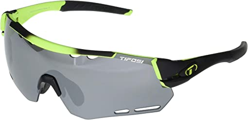 Race Neon Frame Smoke/AC Red/Clear Lenses