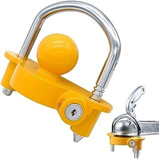 """OKLEAD Acoplador Universal Trailer Hitch Lock Segurança de armazenamento ajustável Aço resistente cabe 1-7⁄8"""" (48 mm), 2"""" ..."""