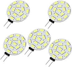 Led Bulbs, 5 X G4 / MR11/ GU4 / GZ4 3.5W 15x5630SMD Warm White/Cool White 220-260LM Led Light Bulbs (12-24V AC/DC) led lig...