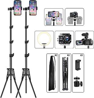 Photography Studio Tripod Stand for Smartphone, Aluminum Alloy Tripod Stand Lightweight Tripod, Video Light Tripod Stand, ...