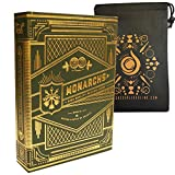 Green Monarch Playing Cards Theory 11 Deck und Cascade Card Bag