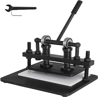 VEVOR Machine de Découpe du Cuir Manuelle 260x150 mm Machine à Découper Manuelle Machine de Coupe du Cuir Machine de Décou...