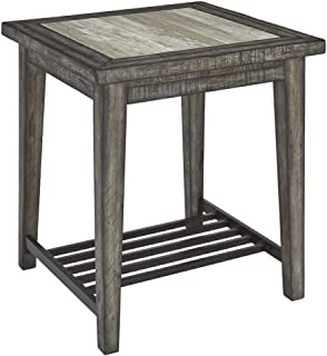 Signature Design by Ashley - Mavenry End Table, Grayish Brown