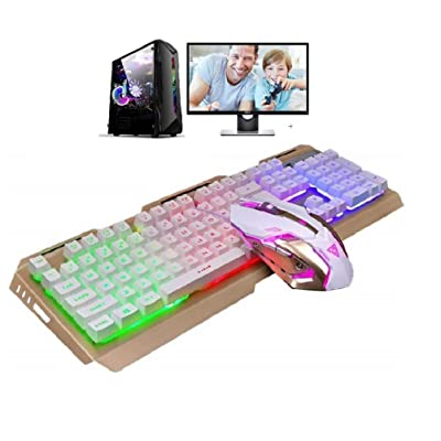 Gaming Keyboard and Mouse Combo,Ducky Keyboad L...