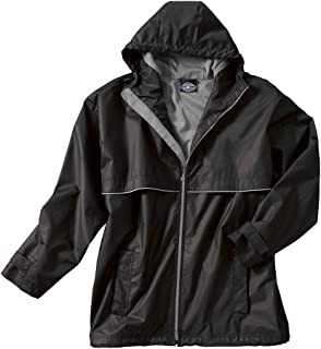 Charles River Apparel Men's Heathered Fleece Jacket