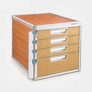 مكتب تنظيم وتخزين الملفات المكتبية مع درج قفل نوع تخزين البيانات مكتب صندوق A4 خزانة بيانات إطار سبائك الألومنيوم (الحجم: ...