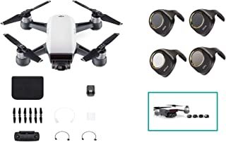 DJI SPARK CONTROLLER COMBO DRONE WITH SUNNYLIFE ND FILTERS MIX