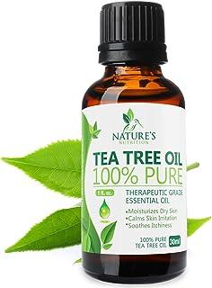 Sponsored Ad - Tea Tree Essential Oil - 100% Pure and Natural - Premium Therapeutic Grade Melaleuca Alternifolia Tea Tree ...