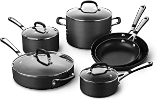 Simply Calphalon Nonstick 10 Piece Cookware Set (Sa10H)