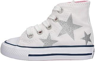 2248292bf6d85 Converse Petite Fille Chaussures Baskets Hautes 764043C CTAS Hi